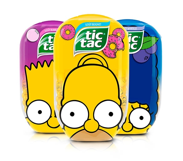 TIC TAC THE SIMPSONS